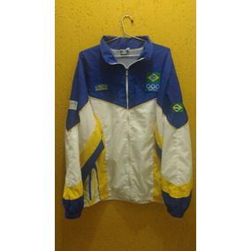 Agasalho Da Seleção Olimpica Brasileira - Roupas de Futebol no ... b1fd5e7cc425a