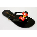 Kit 10 Pares Rasteira Mickey Minnie Adulto Atacado Barato