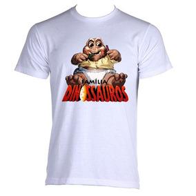 f4ba5e4485 Camiseta Allsgeek Familia Dinossauro Baby Infantil 05