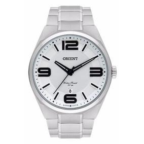 f7cc18608ed Relogio Branco Masculino Orient - Relógios De Pulso no Mercado Livre ...