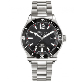 Reloj Salvatore Ferragamo F1898 Original Para Hombre Sfff313