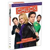 Box Original : Chuck - 4ª Temporada Completa - 5 Dvds