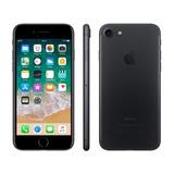 Iphone 7 Apple 32gb Preto Matte 4g Tela 4.7retina - Câm. 12