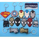 Llaveros Metalicos De Coleccion Super Heroes Comics Y Mas