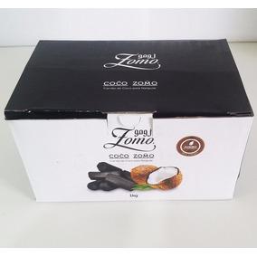 Caixa De Carvão De Coco Exagonal Zomo 1 Kg Narguilé