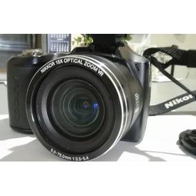 Câmera Fotográfica Nikon Coolpix L100 (zoom 15x) -imperdível