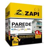 Zapi Parede E Fachada Tinta Impermeável #001