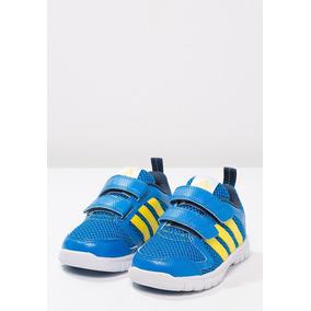 Tenis adidas Sta Fluid Azul Amarillo Azul 15-16 Zx Original