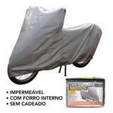 Capa Impermeável Moto S/ Cadeado Honda Fan Cg 160 | Cmsc1