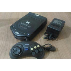 Sega Cdx Controle + Fonte Funcionando Ok