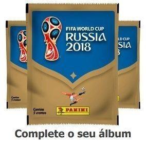 Copa 2018 Russia Figurinhas Avulsas Para Completar Album