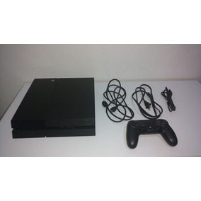 Video Game Ps4 500 G + 1 Controle Dual Shock Preto -original
