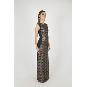 Reina Diaz Vestido Largo Linea En Linea A Escote Caja 524333