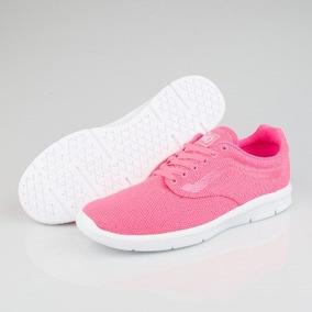 Vans Tenis Iso 1.5 Lifestyle Casual Rosa Neon Textil Mujer de35d929056
