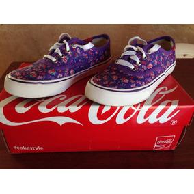 Tenis Coca Cola Original Tamanho 34 Kick Garden Violeta