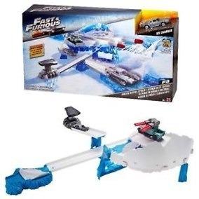 Pista Ataque Míssil Congelante Fast & Furious Mattel S/juros