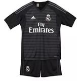 Kit Infantil Real Madrid Goleiro Home 2019 Frete Grátis 2018