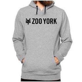 dc5b7b139a291 Blusa Moletom De Frio Zoo York Skate Canguru Promoção Casaco