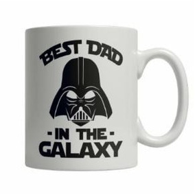 Caneca Dia Dos Pais Darth Vader