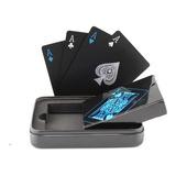 Baralho Preto Luxo Ellusionist Pôquer Mágica Truco