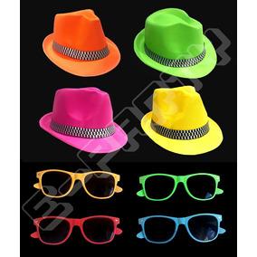 Sombreros Fluor Plastico Cotillon Convencional - Cotillón en Mercado ... f5694e19c3b