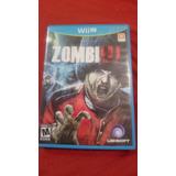 Juego Zombiu Para Nintendo Wiiu.