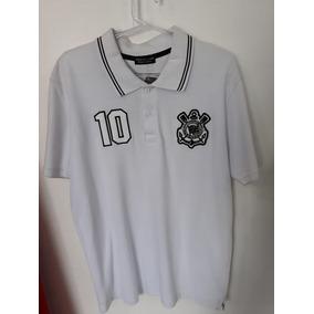 2ca4ec6f2a Camiseta Polo Corinthians Bordada Japao - Camisetas no Mercado Livre ...