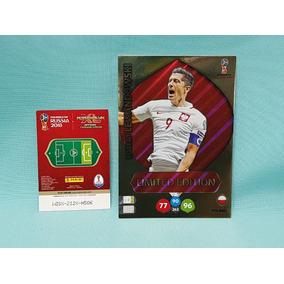 Cards Xxl Copa 2018 Limited Edition Lewandovski Polonia