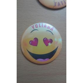 Pin Emoticones Con Prendedor