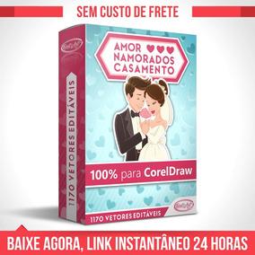 Vetores P Corel Draw Casamento Noivinhos + Vídeo + Bônus