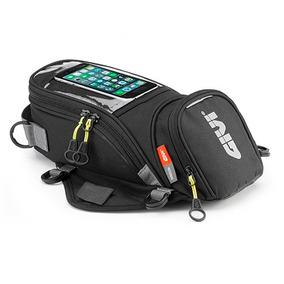Bolso De Tanque Moto Givi Ea106b Imanes Con Porta Smartphone
