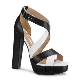 a10133600bc Sandalias Sexys Negras Altas Zipper Zapatos Mujer - Zapatos en ...