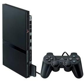 Console Sony Playstation 2 Slim Desbloqueado C/nf E Garantia