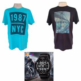 ca30a6a67d Camisas Esportivas Baratas - Camisa Masculino no Mercado Livre Brasil