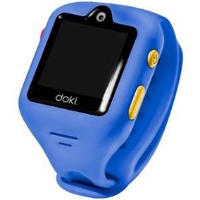 Reloj Smart Doki 3g Videollamada Y Localización Niños Azul