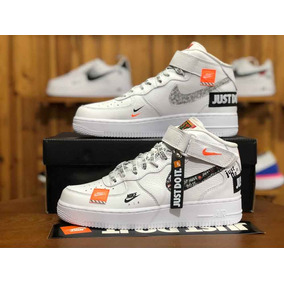 f8b4a6c329c Zapatillas Importadas  Nike Air Force1 Just Do It  Caña Alta