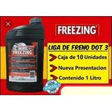 Liga Para Frenos Dot3 Freezing Litro Caja De 10 Precio ?