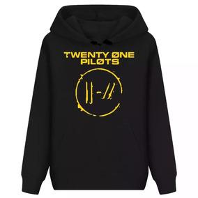 1595196fd3 Moletom Capuz 21 Twenty One Pilots Banda Tumblr Pop Top D+!