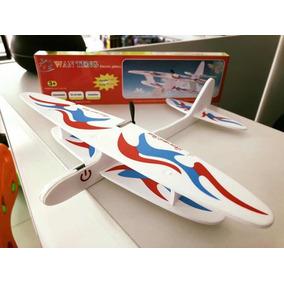 Avión Avioneta Vuela Motor A Batería Adultos Niños Clicshop