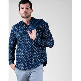 cff3b35385 Camisa Bensimon Hombre Estampado Caballos - Camisas de Hombre en ...