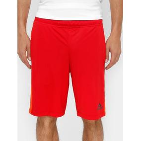 Bermuda adidas Vermelha