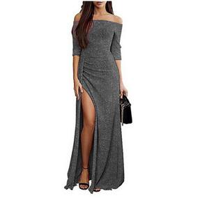 29a209950 Sexy Vestido Elegante Noche Fiesta Bodycon Maxi Delgado