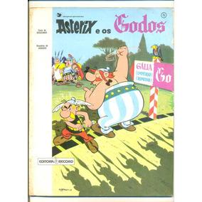 Livro Hq Asterix E Os Godos René Goscinny Editora Record