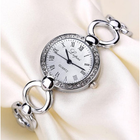 Relojes Dama Mujer Tipo Lujo Mayoreo Mama Pulsera