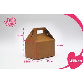 Caja Lonchera Boxlunch Carton Micro Dulces Postres Mediana