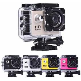 Mini Câmera Filmadora Sports Hd 1080p Youtube Moto Capacete