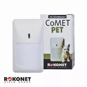 2 Sensor Infra Vermelho Alarme Rokonet Rk210 Comet Pet 20kg