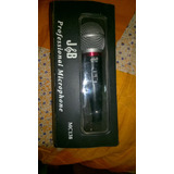 Microfono J&b Jb Alambrico Karaoke Mc138 Xlr Seminuevo