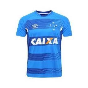 Camiseta Cruzeiro Treino 2018  Personalizada cf43c80d8ea7e