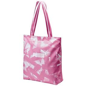 Bolsa Puma Wmn Core Shopper 075398-01 Rosa -blanco Dama Oi e5cb2e874d66